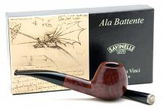Курительная трубка SAVINELLI LEONARDO ALA BATTENTE 2012 DARK BROWN - 0007